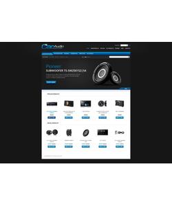 Zen Cart e-shop šablona na téma Auta č. 37717