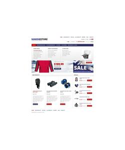 Zen Cart e-shop šablona na téma Sport č. 37890