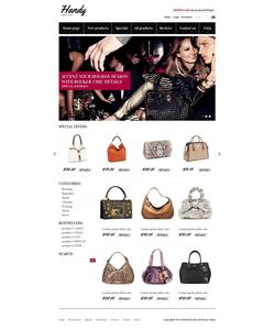 Zen Cart e-shop šablona na téma Móda č. 38348