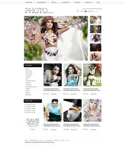 Zen Cart e-shop šablona na téma Umění a fotografie č. 38588