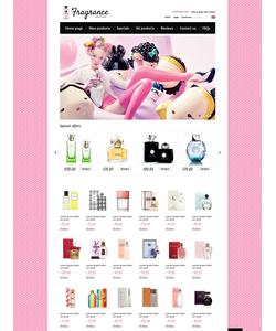 Zen Cart e-shop šablona na téma Krása č. 38766