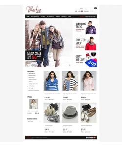 Zen Cart e-shop šablona na téma Móda č. 38767