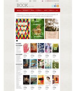 Zen Cart e-shop šablona na téma Knihy č. 38768