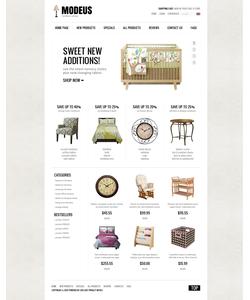 Zen Cart e-shop šablona na téma Interiér a nábytek č. 38769