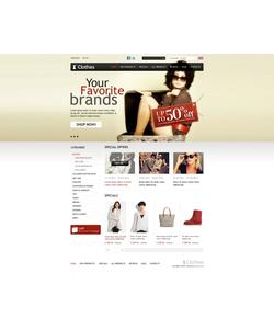 Zen Cart e-shop šablona na téma Móda č. 38770