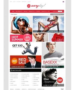 Zen Cart e-shop šablona na téma Móda č. 39205