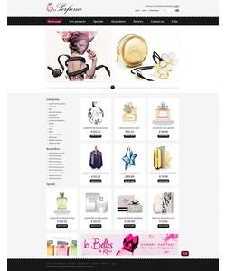 Zen Cart e-shop šablona na téma Krása č. 39209