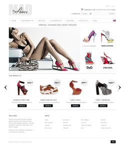 Zen Cart e-shop šablona na téma Móda č. 39311