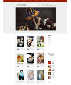 Zen Cart e-shop šablona na téma Umění a fotografie č. 39633