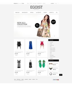 Zen Cart e-shop šablona na téma Móda č. 39635