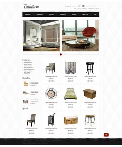 Zen Cart e-shop šablona na téma Interiér a nábytek č. 39690