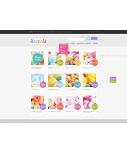 Zen Cart e-shop šablona na téma Jídlo a pití č. 40110