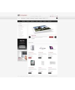 Zen Cart e-shop šablona na téma Počítače č. 40112