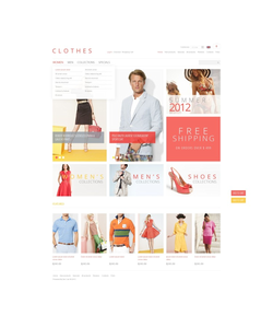 Zen Cart e-shop šablona na téma Móda č. 40118