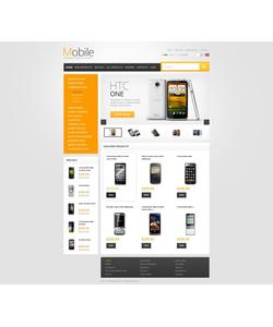 Zen Cart e-shop šablona na téma Elektronika č. 40119