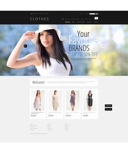 Zen Cart e-shop šablona na téma Móda č. 40543
