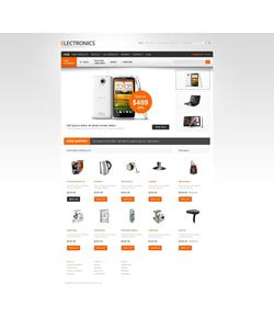 Zen Cart e-shop šablona na téma Elektronika č. 40588