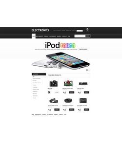 Zen Cart e-shop šablona na téma Elektronika č. 40589