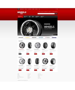 Zen Cart e-shop šablona na téma Auta č. 40617