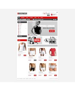 Zen Cart e-shop šablona na téma Móda č. 41120