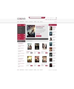 Zen Cart e-shop šablona na téma Zábava č. 41437