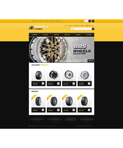 Zen Cart e-shop šablona na téma Auta č. 41499
