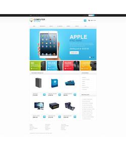Zen Cart e-shop šablona na téma Počítače č. 41511