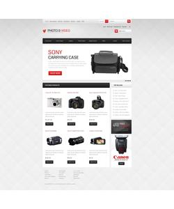 Zen Cart e-shop šablona na téma Elektronika č. 41513