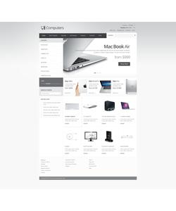 Zen Cart e-shop šablona na téma Počítače č. 41624
