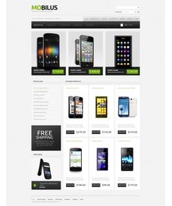 Zen Cart e-shop šablona na téma Elektronika č. 41809