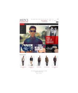 Zen Cart e-shop šablona na téma Móda č. 42061