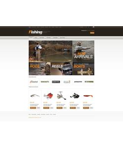 Zen Cart e-shop šablona na téma Sport č. 42193