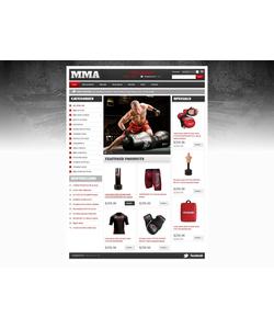 Zen Cart e-shop šablona na téma Sport č. 42335