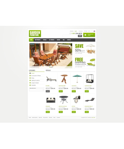 Zen Cart e-shop šablona na téma Interiér a nábytek č. 42368