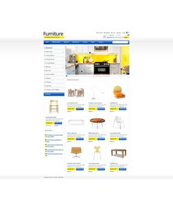 Zen Cart e-shop šablona na téma Interiér a nábytek č. 43855