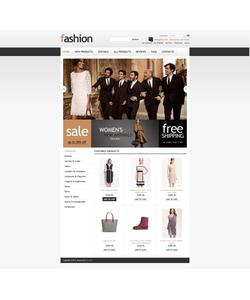 Zen Cart e-shop šablona na téma Móda č. 43889