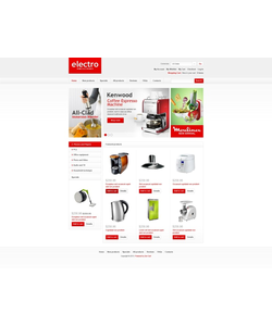 Zen Cart e-shop šablona na téma Elektronika č. 43914