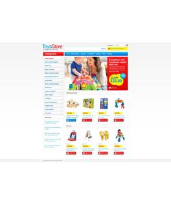 Zen Cart e-shop šablona na téma Zábava č. 43915