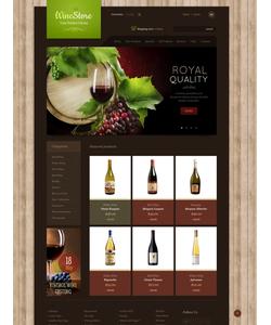 Zen Cart e-shop šablona na téma Jídlo a pití č. 43916