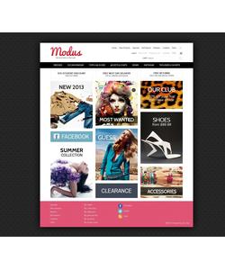 Zen Cart e-shop šablona na téma Móda č. 44133