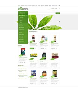 Zen Cart e-shop šablona na téma Lekařské č. 44262