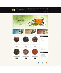 Zen Cart e-shop šablona na téma Jídlo a pití č. 44395