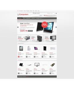 Zen Cart e-shop šablona na téma Počítače č. 44409
