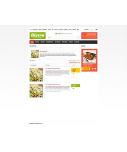 Zen Cart e-shop šablona na téma Jídlo a pití č. 44745