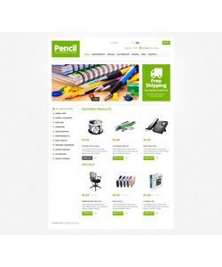 Zen Cart e-shop šablona na téma Podnikání č. 44920