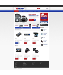 Zen Cart e-shop šablona na téma Auta č. 45027