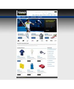 Zen Cart e-shop šablona na téma Sport č. 45087