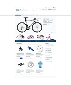 Zen Cart e-shop šablona na téma Sport č. 45088