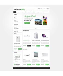 Zen Cart e-shop šablona na téma Počítače č. 45165