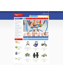 Zen Cart e-shop šablona na téma Zábava č. 45166